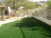 event landscaping using green colorant
